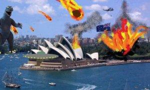 Mayan apocalypse: Syndey, Australia